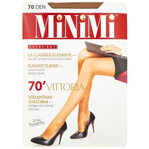 Колготки MiNiMi Vittoria 70 den, размер 3-M, daino (бежевый) колготки minimi vittoria 20 den размер 3 m daino бежевый