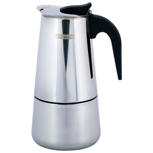 Гейзерная кофеварка Kamille 0662 (450 мл), серебристый