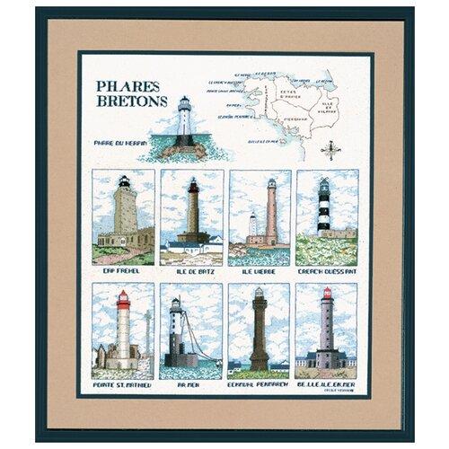 Набор для вышивания: PHARES BRETONS (Бретонские маяки) Le Bonheur des Dames, 62 X 45 1190A