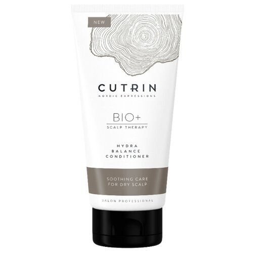 Фото - Cutrin кондиционер BIO+ Hydra Balance для увлажнения кожи головы, 200 мл cutrin шампунь для жирной кожи головы 250 мл cutrin bio