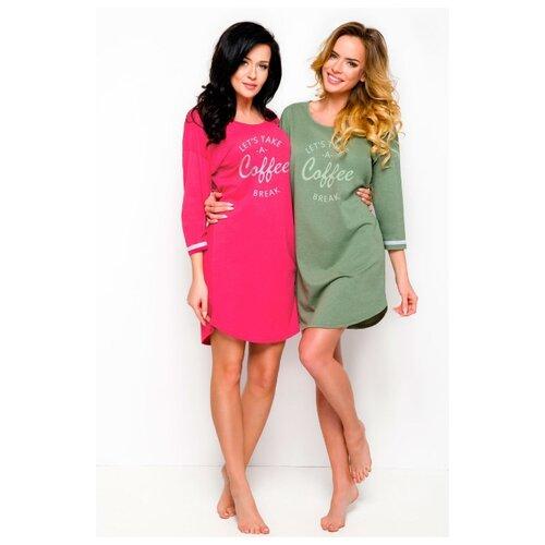 Молодежная женская ночная сорочка Hana, ярко-розовый, размер S