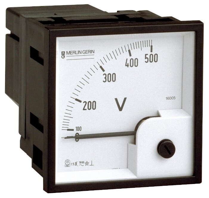 Шкалы измерения для установки Schneider Electric 16008