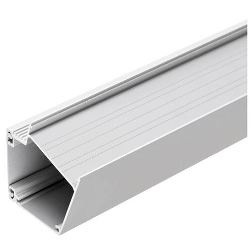 Профиль Arlight BOX73-A30-2000 ANOD серый профиль arlight alu power w35s 2000 anod frost серый
