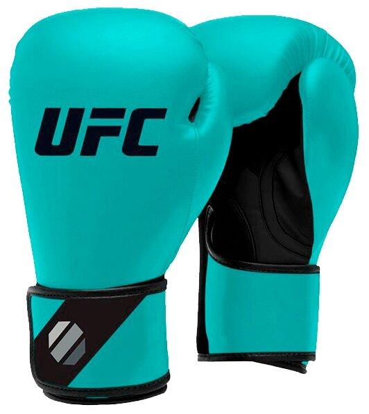 Боксерские перчатки UFC Sparring 6-16 oz голубой 8 oz