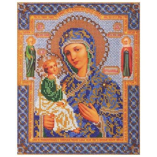 Купить Радуга бисера Набор для вышивания бисером Иерусалимская Богородица 20 х 24 см (В-164), Наборы для вышивания