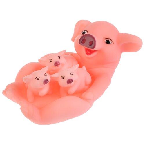 Фото - Игрушка для ванной Играем вместе Свинка и 3 поросенка (B1574313-R) розовый игрушка для ванной играем вместе смешарики бараш lxst40r сиреневый