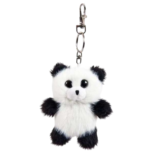 Купить Игрушка-брелок Junfa toys Флэтси мини Панда 9, 5 см, Мягкие игрушки