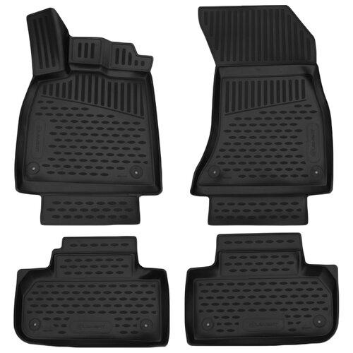 Комплект ковриков ELEMENT 3D0425210k для Audi Q5 4 шт. черный