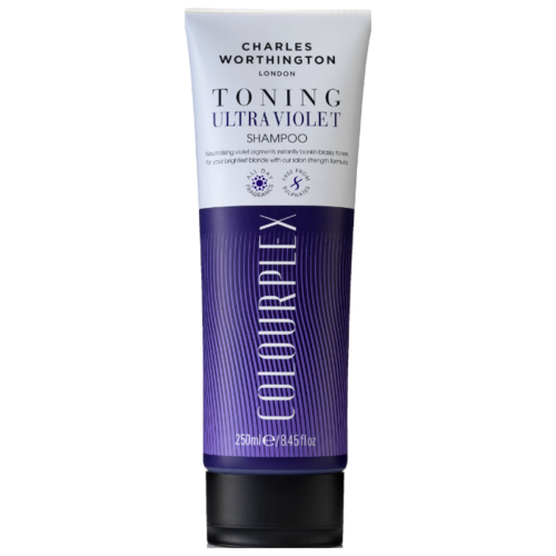 Купить Charles Worthington шампунь ColourPlex Toning Ultra Violet, 250 мл