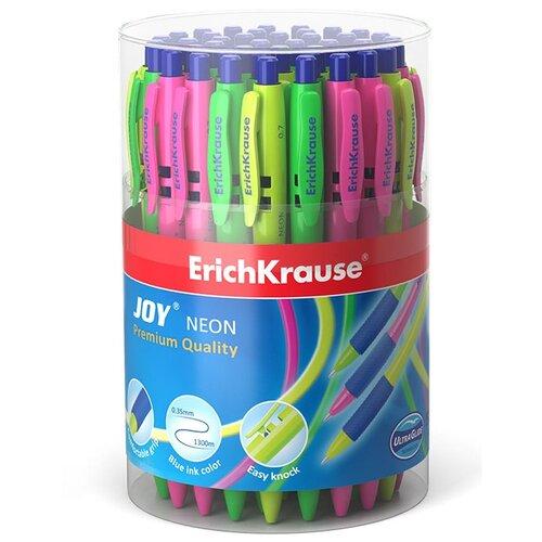 Купить ErichKrause Набор шариковых ручек JOY Neon Ultra Glide Technology, 0.7 мм, 50 шт (46524), синий цвет чернил, Ручки