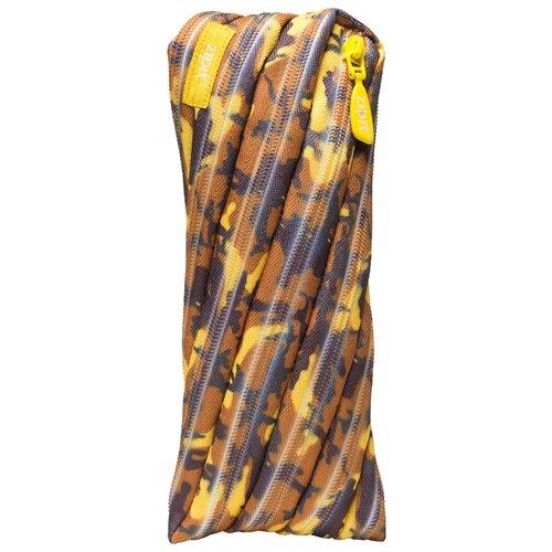 ZIPIT Пенал-сумочка CAMO POUCH (ZT-CG) желтый камуфляж zipit пенал сумочка neon pouch цвет розовый