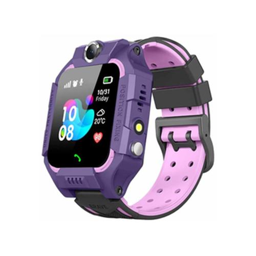 Детские умные часы Smart Baby Watch SBW 3, фиолетовый/розовый детские умные часы c gps smart baby watch kt06 розовый