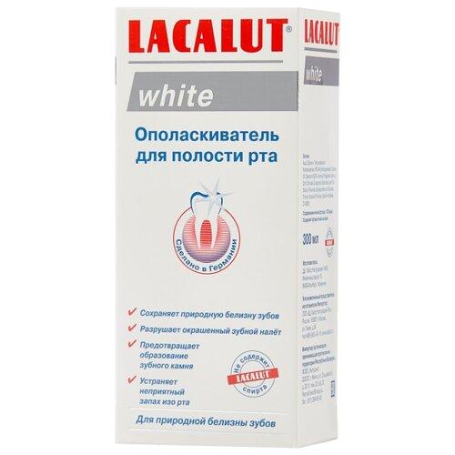 Lacalut ополаскиватель White, 300 мл lacalut white