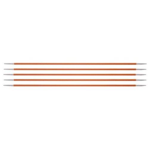 Купить Спицы Knit Pro Zing 47034, диаметр 2.8 мм, длина 20 см, сердолик
