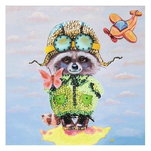 Купить Волшебная Мастерская Мозаика из пайеток Енот МХ-25, Картины из пайеток