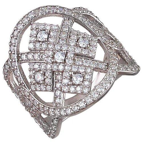 Эстет Кольцо с фианитами из серебра 01К1510189, размер 18.5 фото