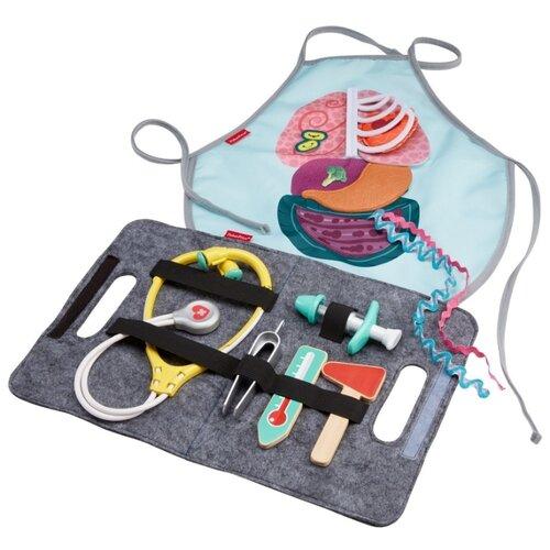 Фото - Набор доктора Fisher-Price Patient & Doctor Kit (GGT61) игровой набор mattel fisher price доктор ggt61