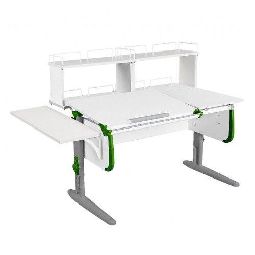 Стол ДЭМИ СУТ-25-02Д2 145x82 см белый/зеленый/серый стол дэми сут 25 02д2 145x82 см белый зеленый бежевый