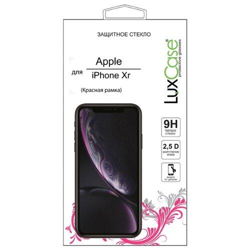 Защитное стекло LuxCase 2.5D FG для Apple iPhone Xr красный стекло защитное rockmax iphone xr 3d черная рамка