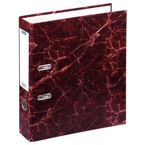 Купить OfficeSpace Папка-регистратор A4, мрамор, 70 мм красный, Файлы и папки
