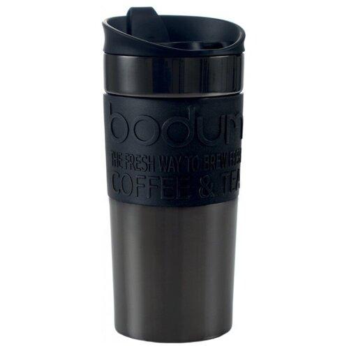 Термокружка дорожная Bodum Travel Clip со стальным корпусом, 0,35л, 11068-380S
