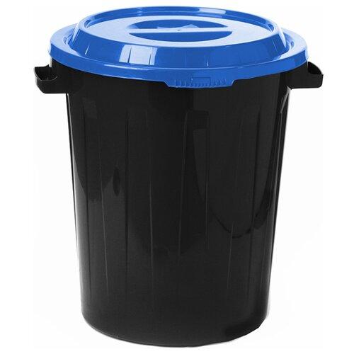 Бак IDEA (М-Пластика) М 2394, 90 л черный/синий
