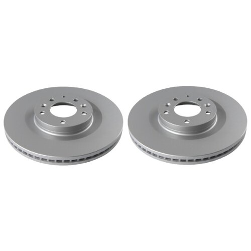 Комплект тормозных дисков передний TRW DF8043 320x28 для Mazda CX-7, Mazda CX-9, Ford Edge (2 шт.)