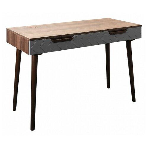 Фото - Письменный стол R-Home Сканди, ШхГ: 110х50 см, цвет: грей r home тв бокс сканди грей