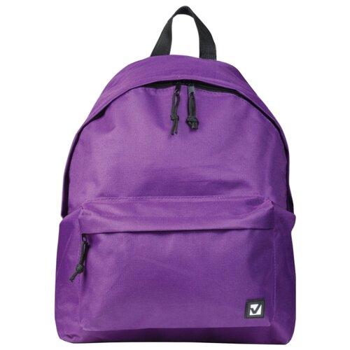 Купить BRAUBERG Рюкзак (225376), фиолетовый, Рюкзаки, ранцы