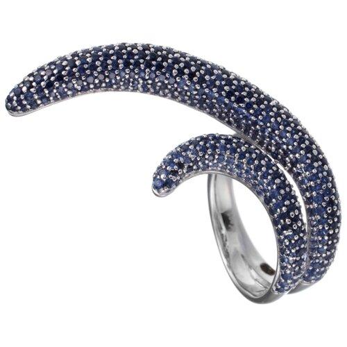 JV Кольцо с фианитами из серебра DM0564R-001-WG, размер 17 jv кольцо с фианитами из серебра r25858 001 wg размер 17