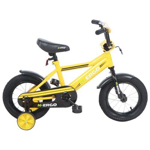 Детский велосипед N.Ergo ВН12185 желтый (требует финальной сборки)