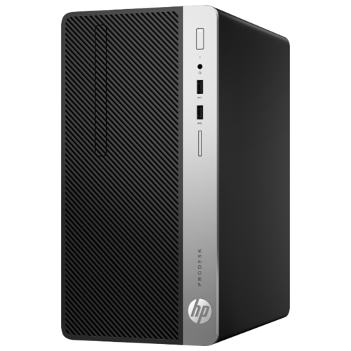Настольный компьютер HP ProDesk 400 G6 MT (7EL64EA) Micro-Tower/Intel Core i3-9100/4 ГБ/1 ТБ HDD/Intel UHD Graphics 630/Windows 10 Pro черный/серебристый компьютер
