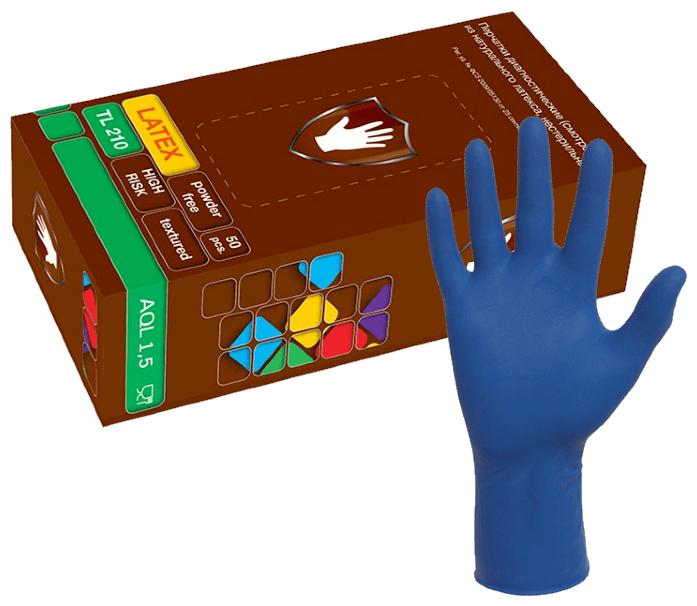 Перчатки смотровые Safe&Care TL210