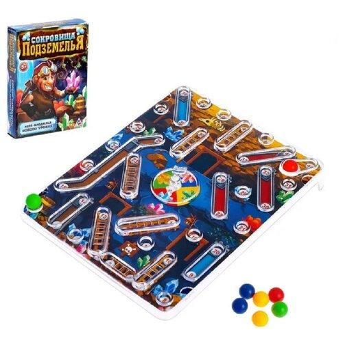 Настольная игра Лас Играс Сокровища подземелья лас играс обучающая игра театр колобок