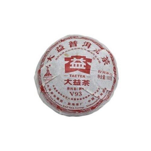 Чай пуэр Dayi V93 Шу 2010