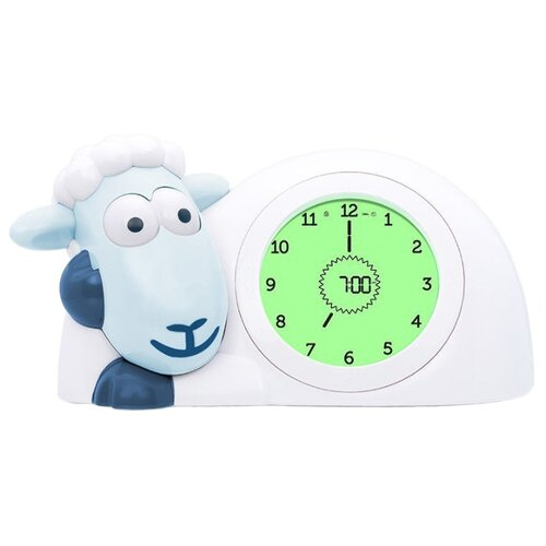Часы настольные ZAZU Ягнёнок Сэм синий