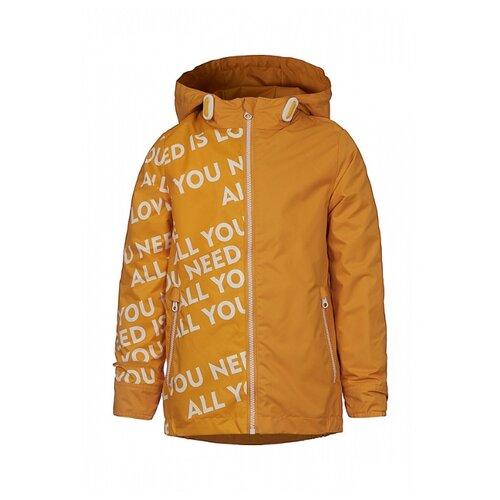 Купить Куртка Oldos размер 116, желтый, Куртки и пуховики