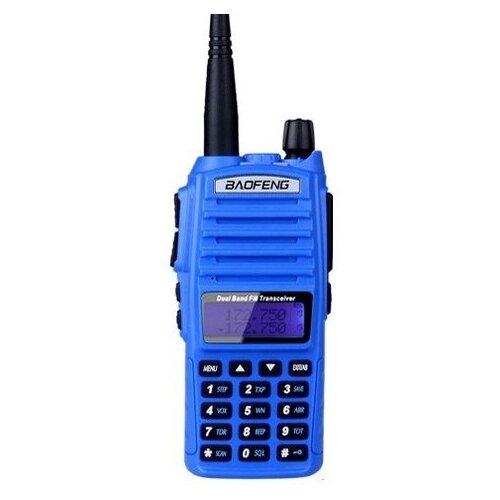 Рация Baofeng UV-82 8W (3 режима мощности) синий рация baofeng uv 5r 8w 2 режима мощности