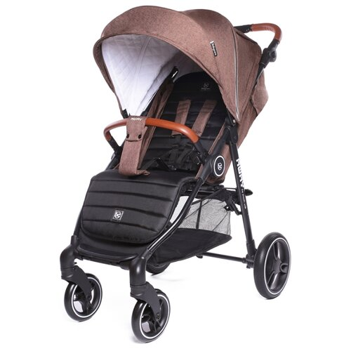 Прогулочная коляска Baby Care Away brown коляска baby care voyager olive checkers