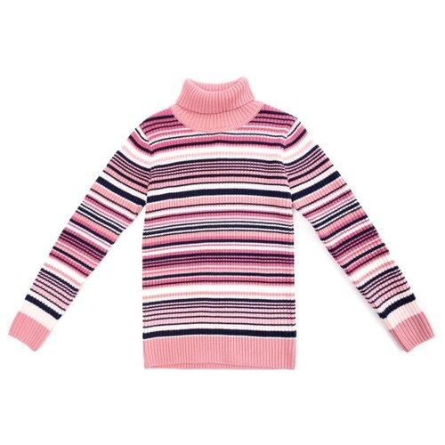 Купить Свитер playToday размер 122, светло-розовый/розовый, Свитеры и кардиганы
