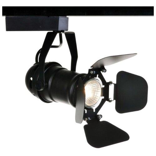 Трековый светильник-спот Arte Lamp Track Lights A5319PL-1BK светильник потолочный arte lamp track lights a5319pl 1wh 4650071254237