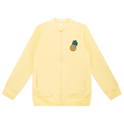 Купить Олимпийка Leader Kids Лимонадный день размер 104, желтый, Толстовки