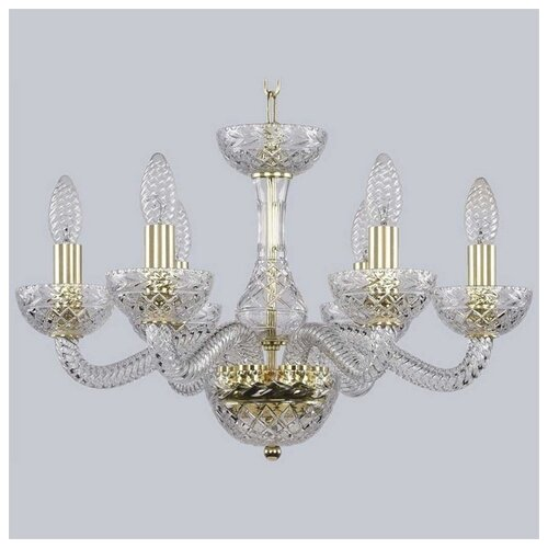 Люстра Bohemia Ivele Crystal 1311 1311/6/165 G Cl/Clear/M-1F, E14, 240 Вт
