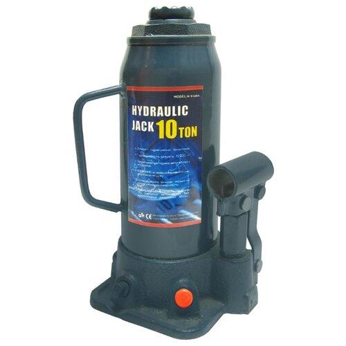 Домкрат бутылочный гидравлический MegaPower M-91004 (10 т) синий домкрат бутылочный гидравлический megapower m 90504s 5 т синий