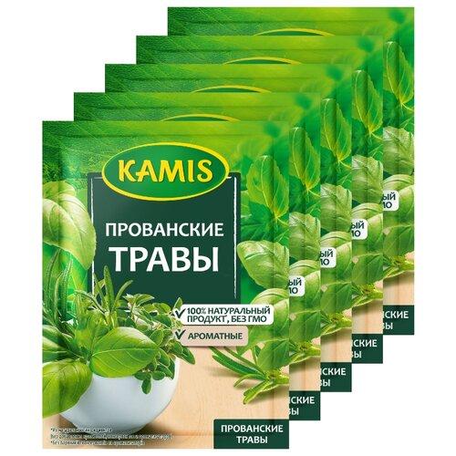 цена KAMIS Пряность Прованские травы, 5х10 г онлайн в 2017 году