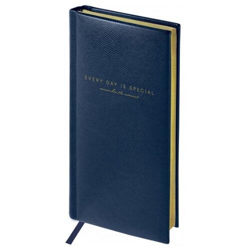 Купить Еженедельник OfficeSpace Dallas полудатированный, искусственная кожа, А6, 64 листов, синий, Ежедневники, записные книжки