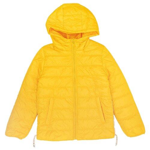 Купить Куртка Button Blue 120BBGC4102 размер 134, желтый, Куртки и пуховики