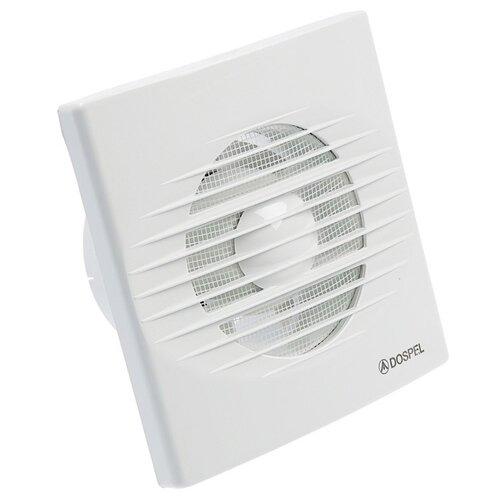 Вытяжной вентилятор Dospel Rico 100 S, белый 15 Вт вытяжной вентилятор dospel styl 100 s p 15вт 007 0001p