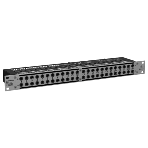 Патч-панель BEHRINGER ULTRAPATCH PRO PX3000 черный 1 шт.