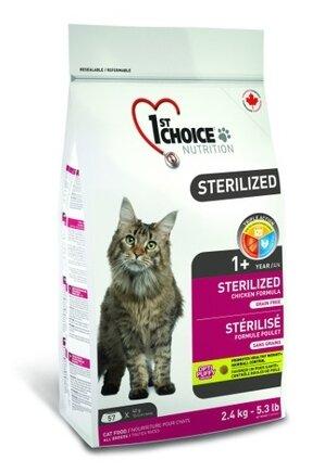 Корм для стерилизованных кошек 1st Choice Adult